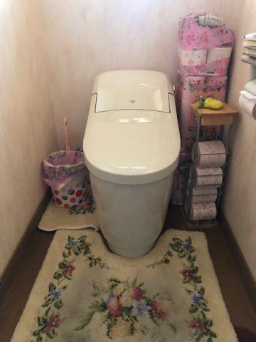 姫路市 トイレの床が濡れている