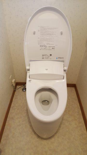 手洗い付トイレ取替