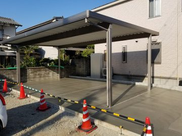 姫路市 駐車場工事