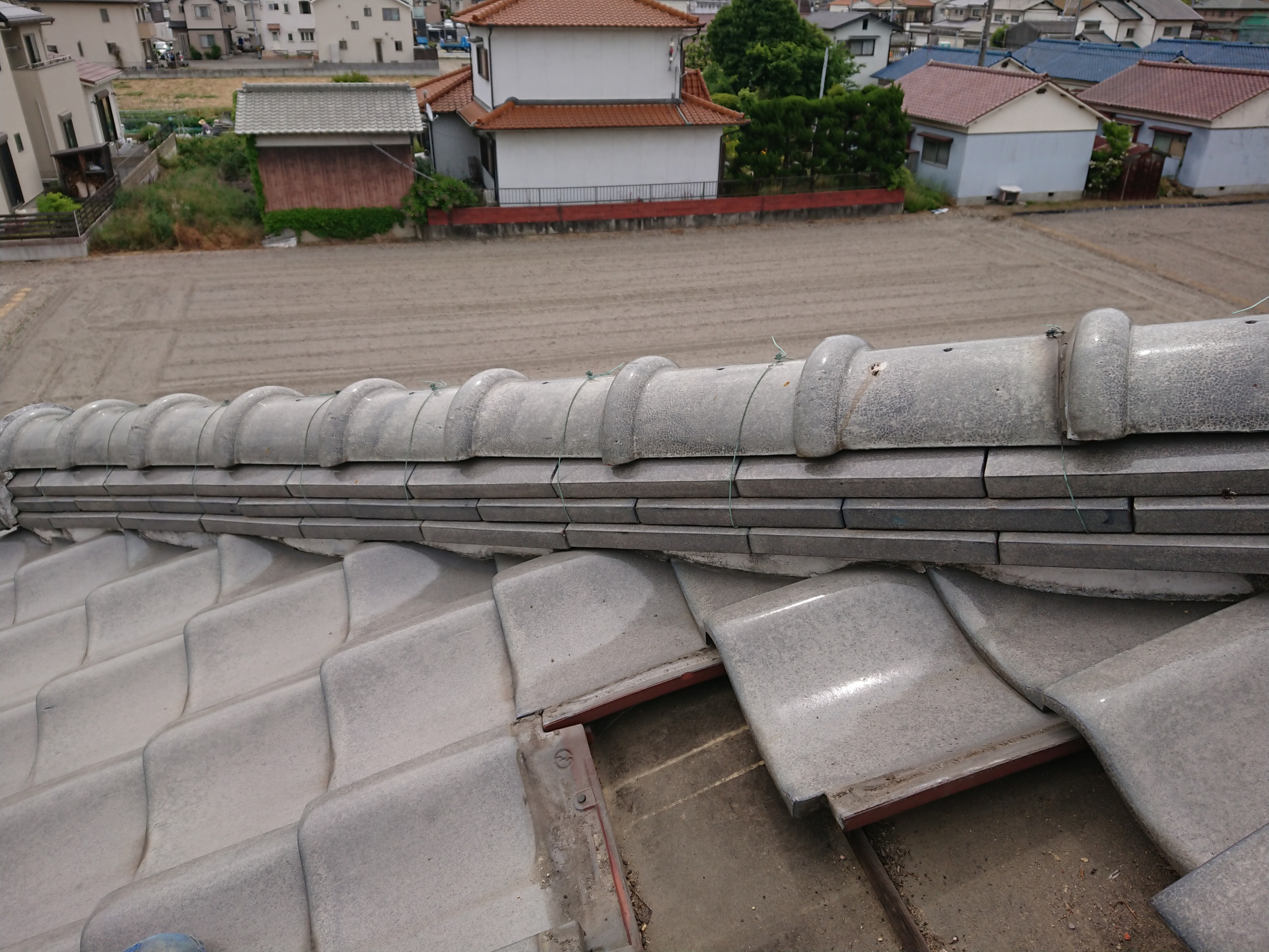 姫路市 雨漏りの現地調査