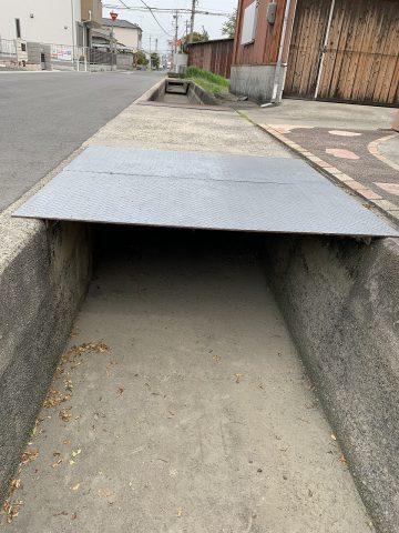 姫路市 用水路溝蓋設置工事