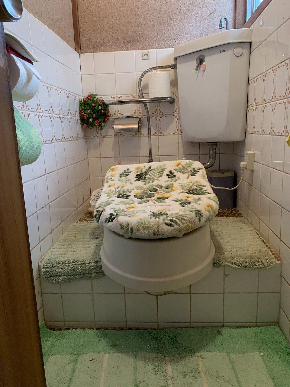 姫路市 トイレ和式から洋式