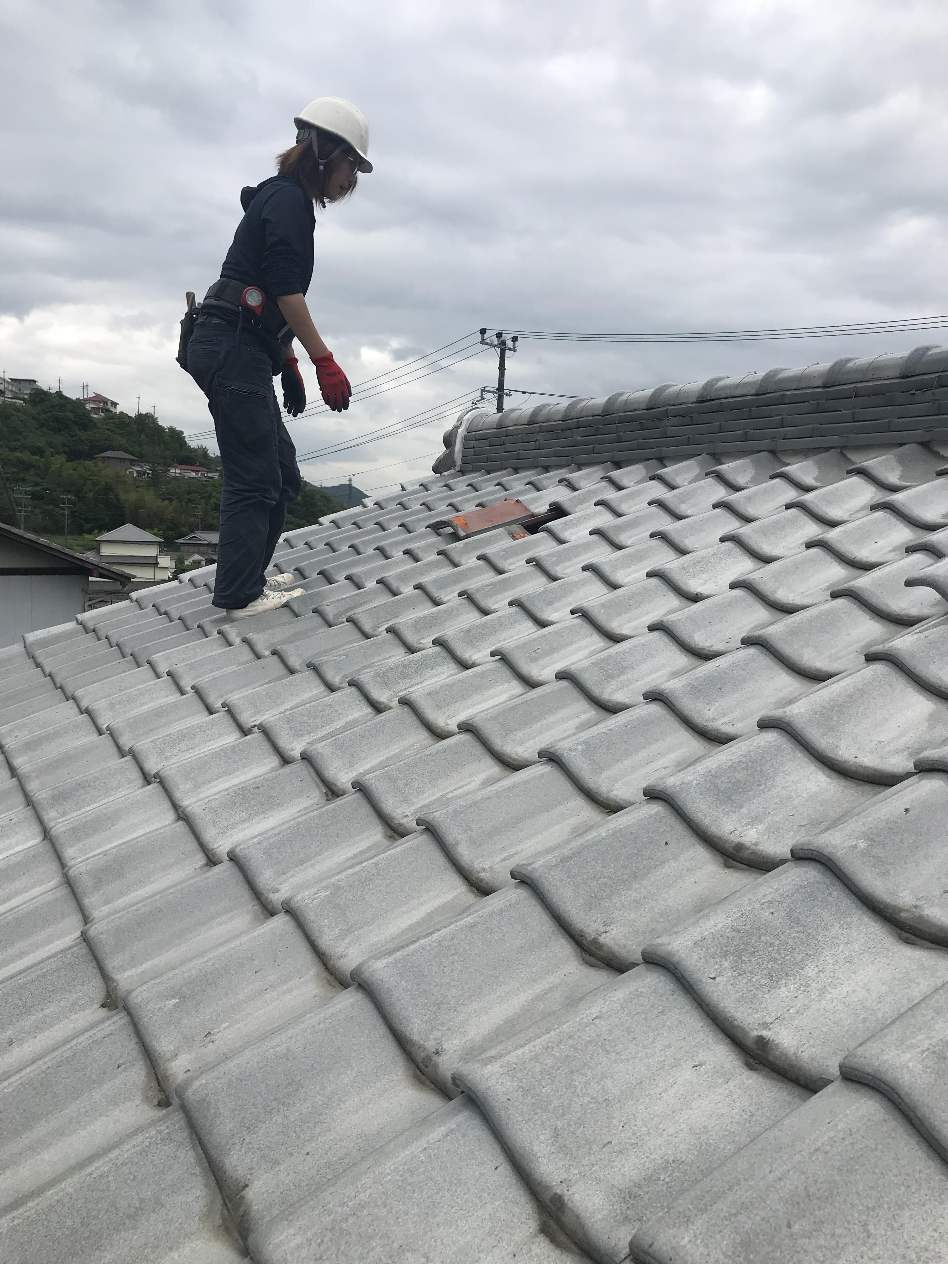 姫路市 雨漏りの点検