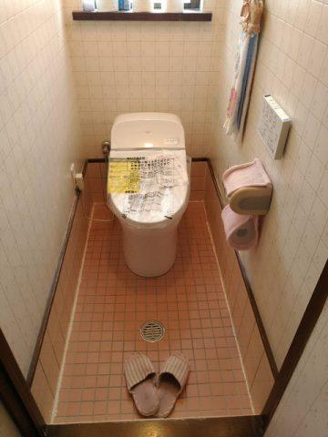 赤穂市 トイレを取替える