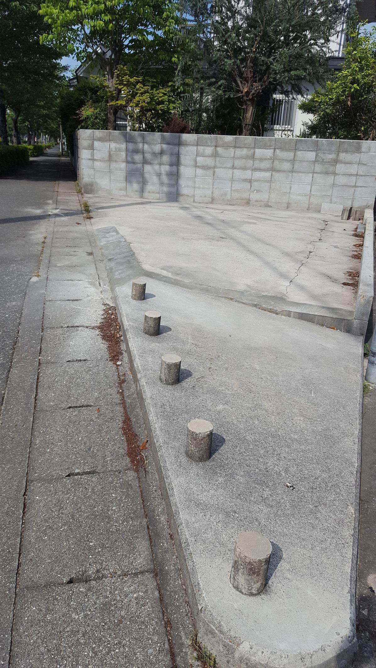 赤穂市 駐車場改修工事