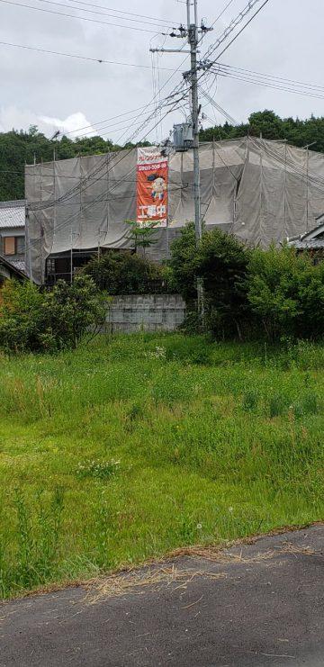 加西市 アクセントをつけた外壁塗装