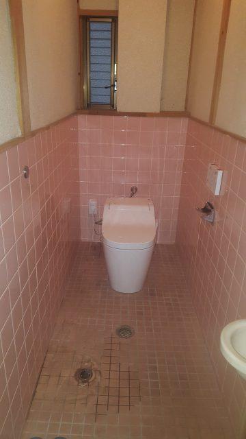 赤穂市 トイレ改修工事