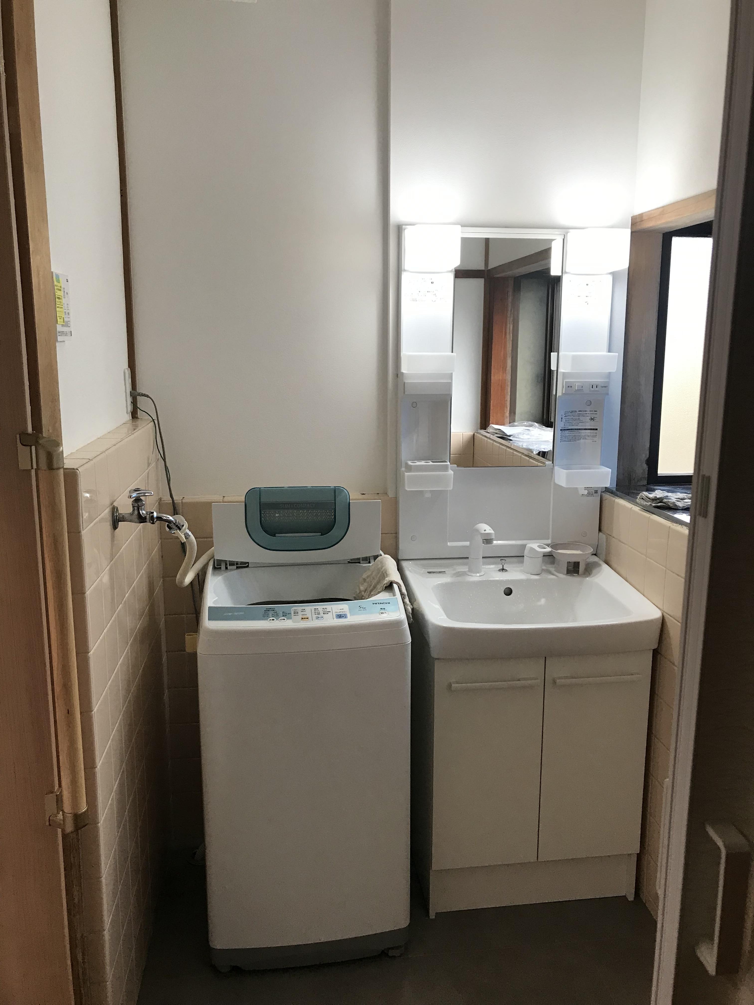 姫路市 洗面台の取替