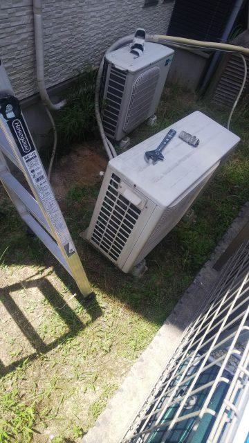 エアコン取替