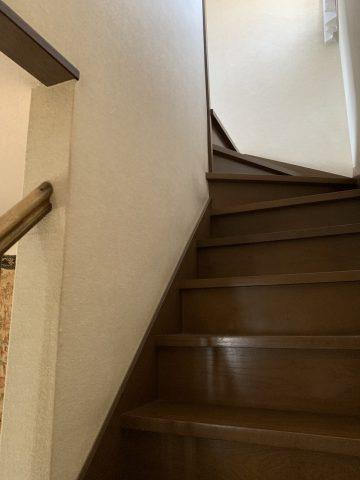 姫路市 階段手すり取り付け工事