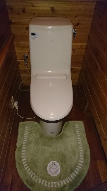 上郡町 トイレを取替える