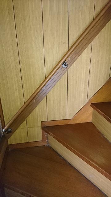 相生市 階段に手すりを取り付ける