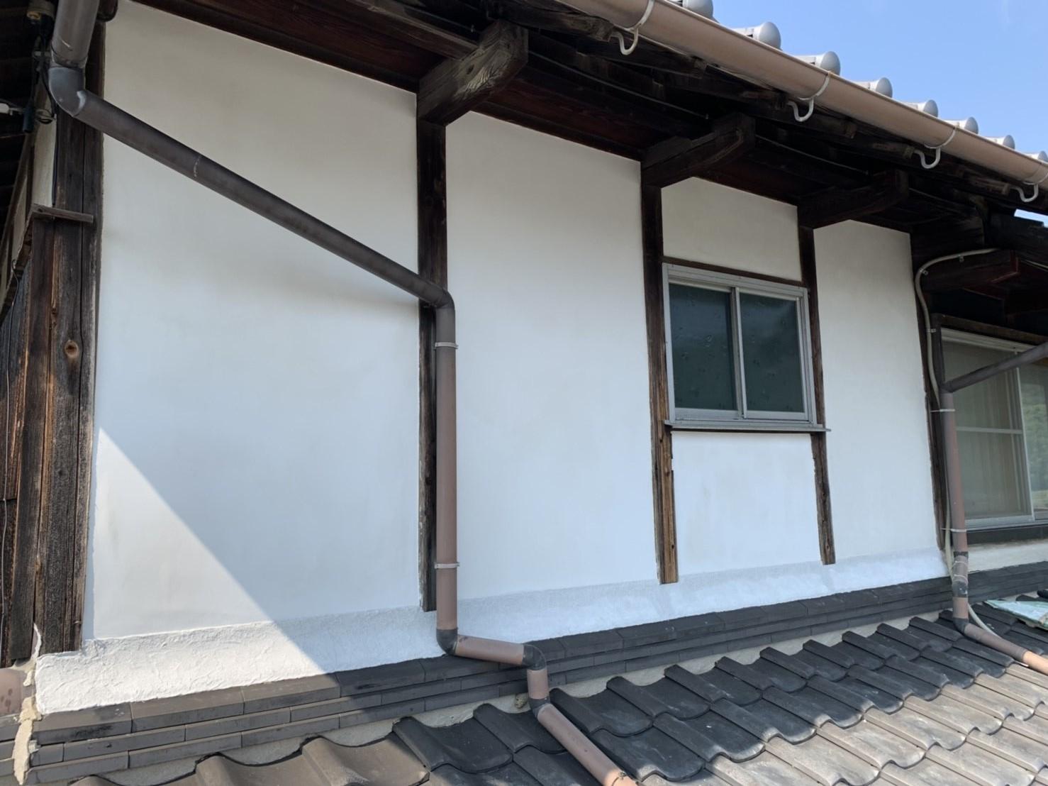 姫路市 漆喰塗り替え工事