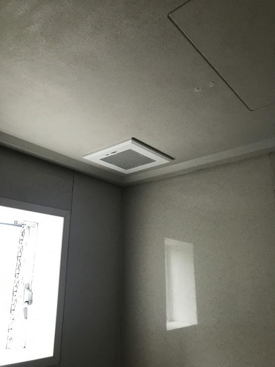 赤穂市 浴室換気扇交換