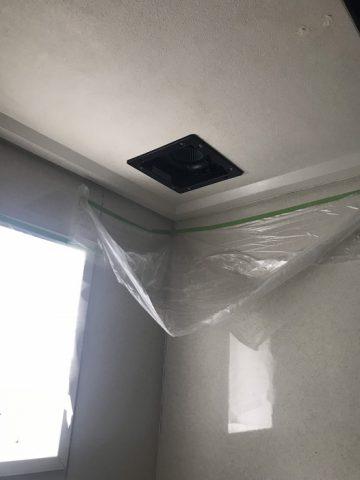 浴室換気扇交換