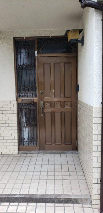 既設玄関ドア