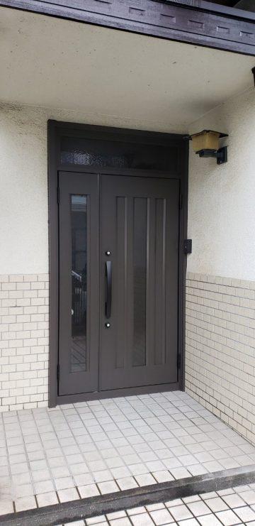 姫路市 玄関ドア入替え工事