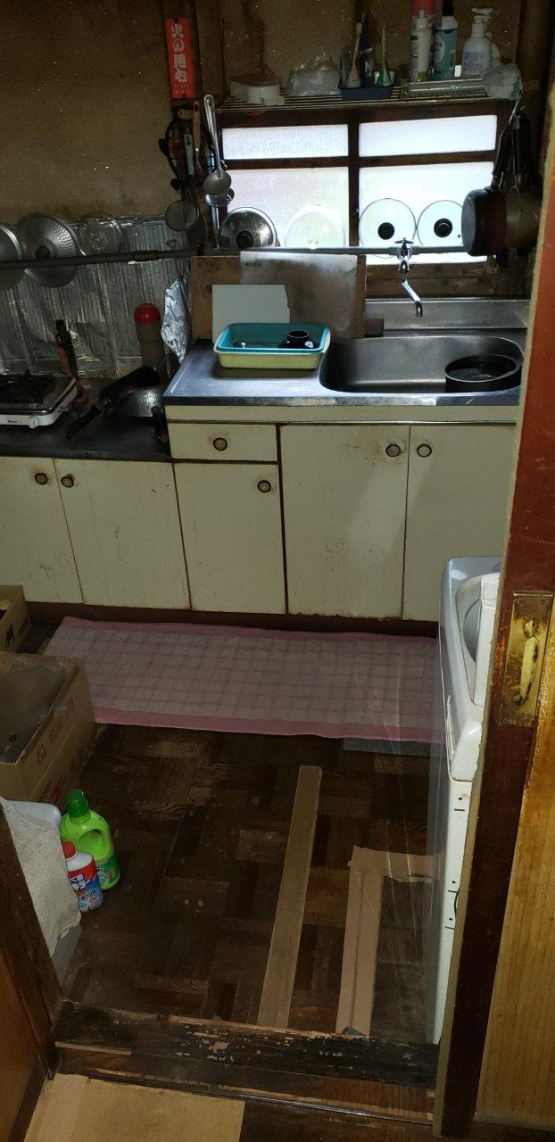 姫路市 台所改修工事