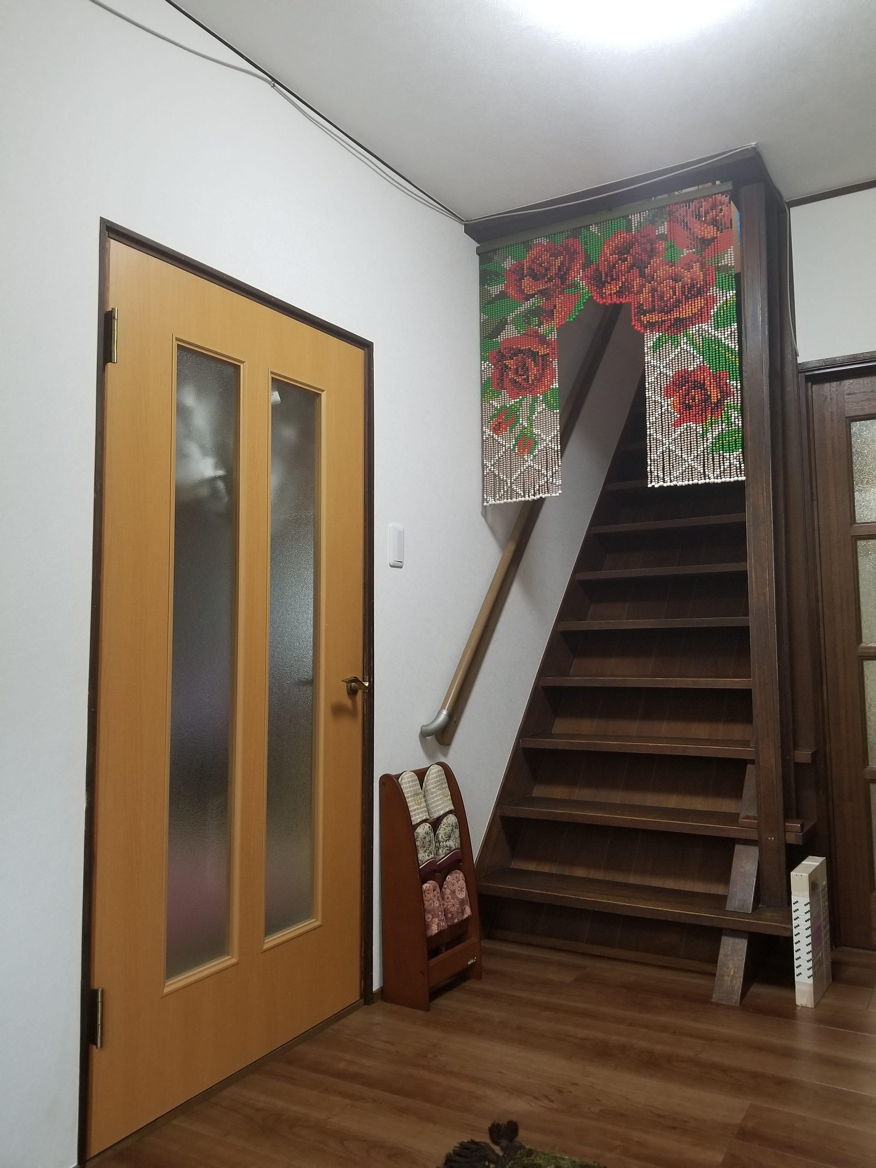 姫路市 玄関階段壁床工事