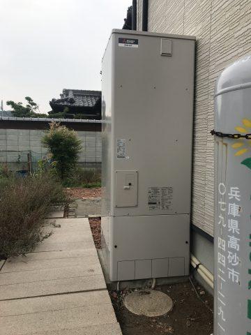 姫路市 エコキュートからお湯が出なくなった