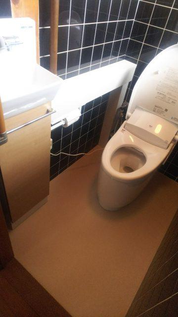 姫路市 トイレの改装工事