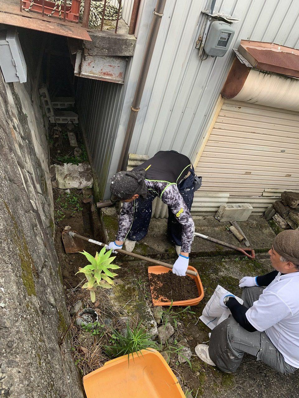 姫路市 溝掃除