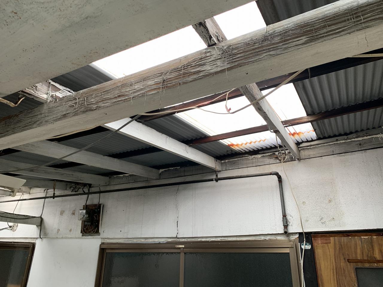 姫路市 屋根補強工事