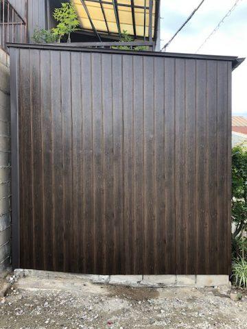 姫路市 外部トタン壁補修工事