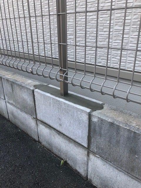 姫路市 フェンスの修理