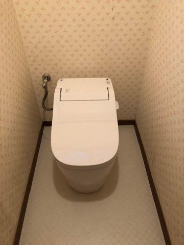 トイレ 取替 すぐ ウォシュレット故障