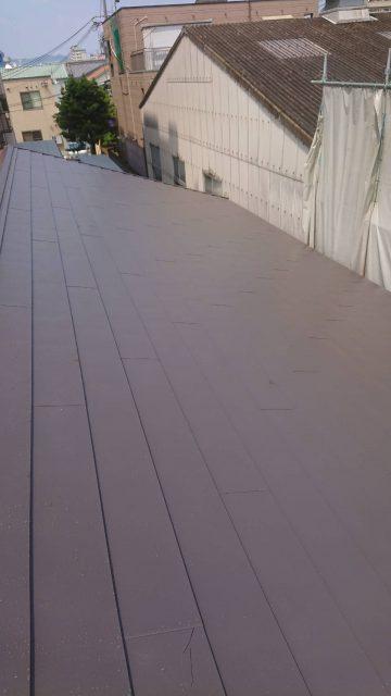 姫路市 屋根 重ね葺き工事