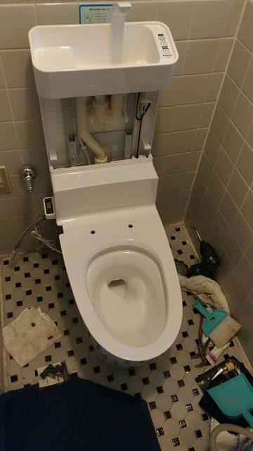 手洗い内部