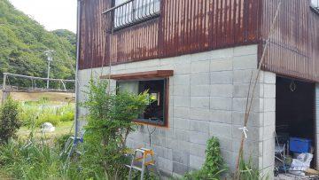 窓改修工事