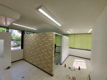 姫路市 間仕切り壁造作工事
