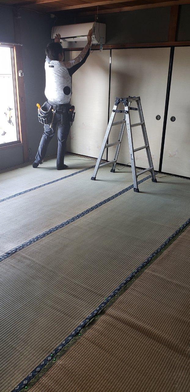 姫路市 畳をフローリングに替えて欲しい!