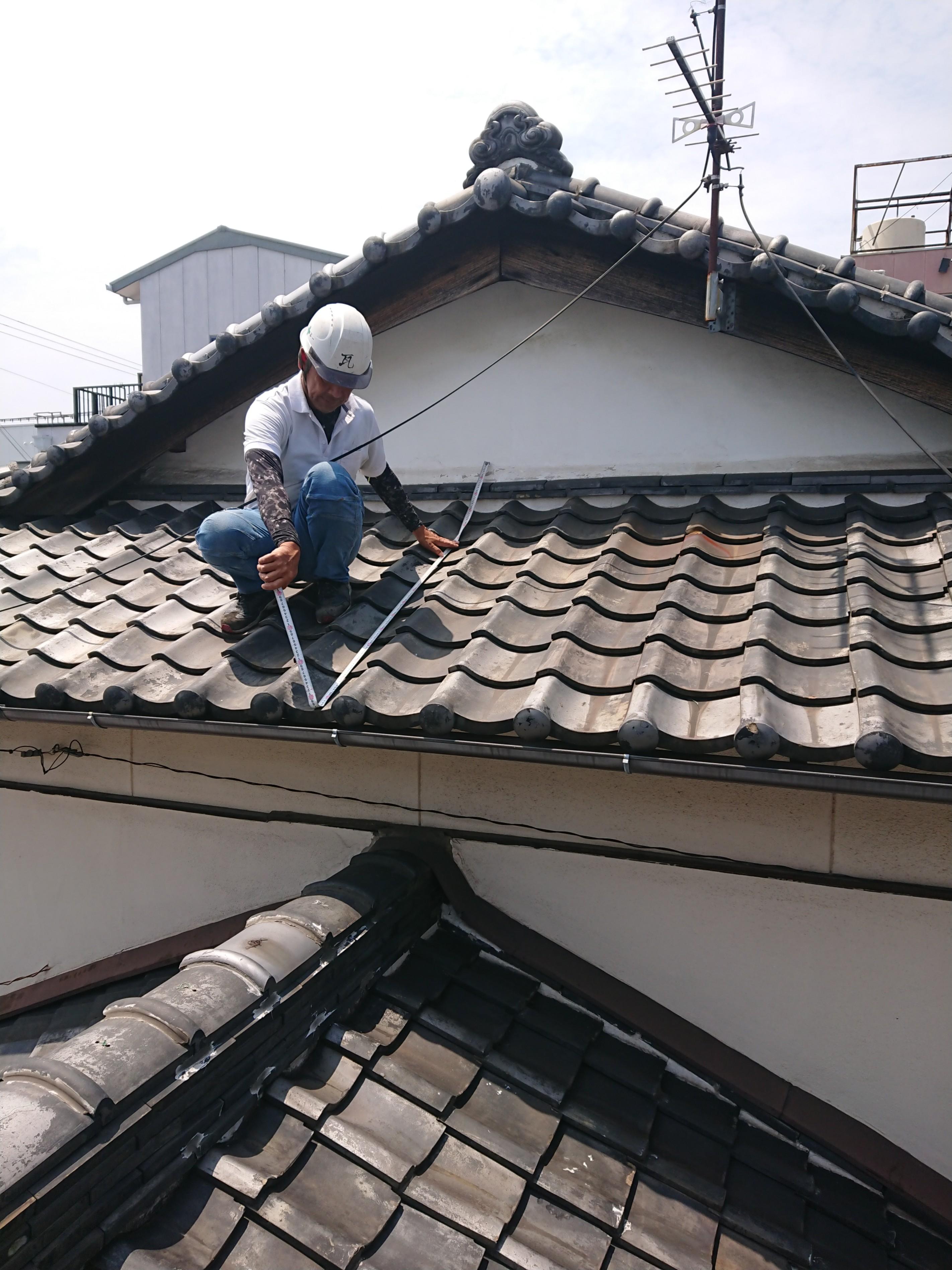 姫路市 屋根の現場調査