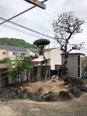 姫路市 植木剪定工事
