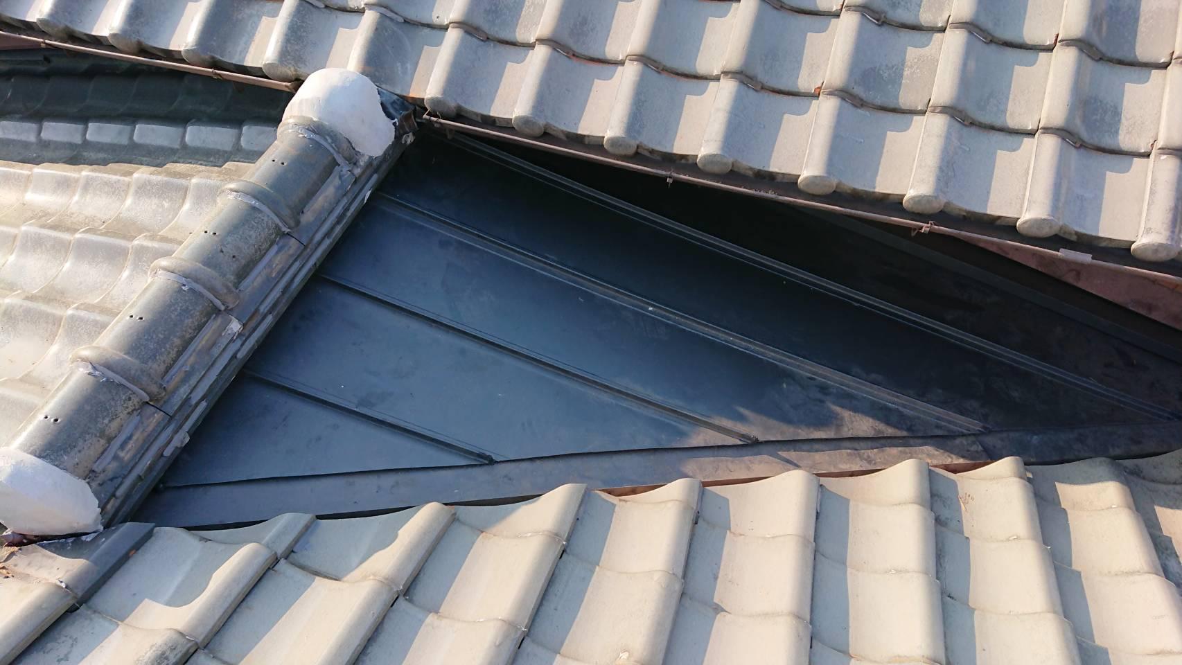 たつの市 雨漏りによる屋根工事