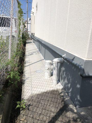 姫路市 店舗雨漏り 対策工事