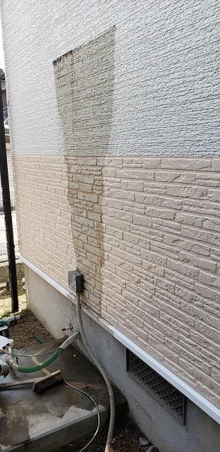 撤去した壁
