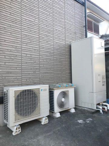姫路市 お湯が出なくなった電気温水器