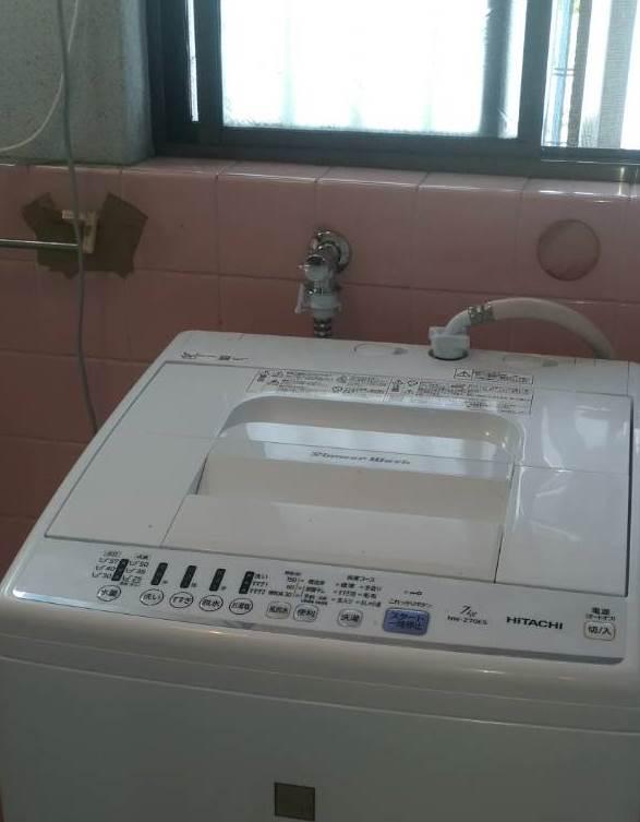 姫路市 洗濯機用水栓金具取替え