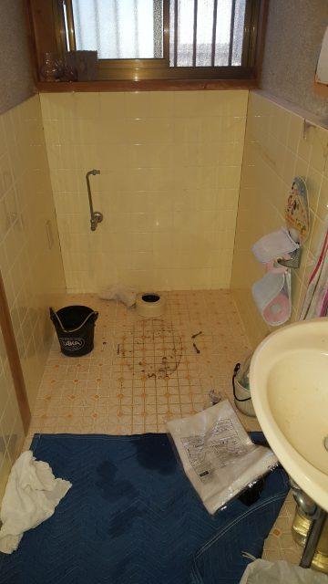 自動開閉、自動洗浄トイレ交換