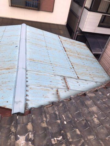 既設トタン屋根