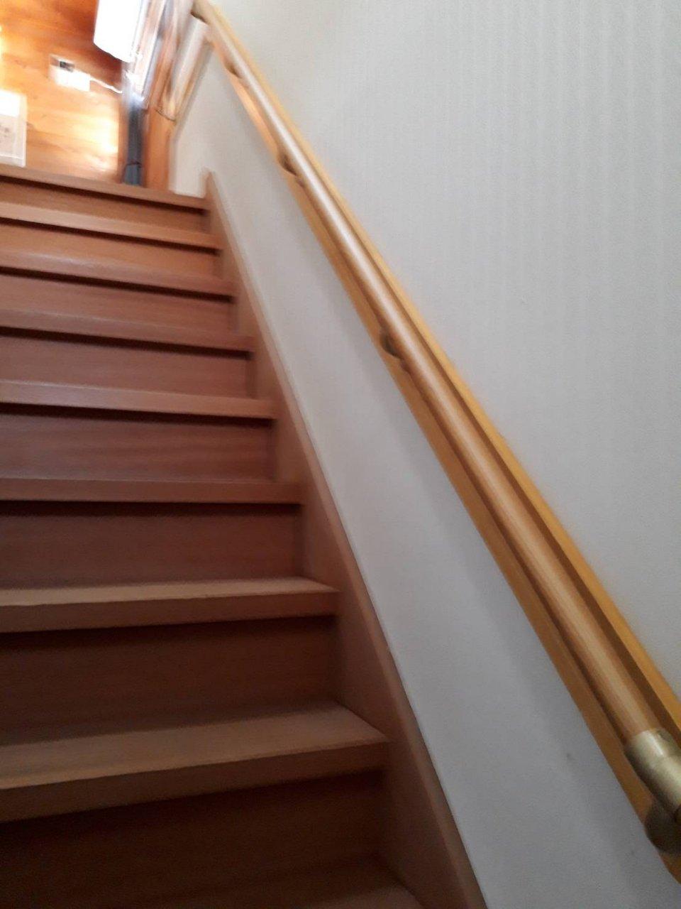 姫路市 階段手すり取付