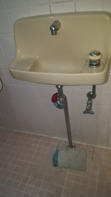 手洗い配管