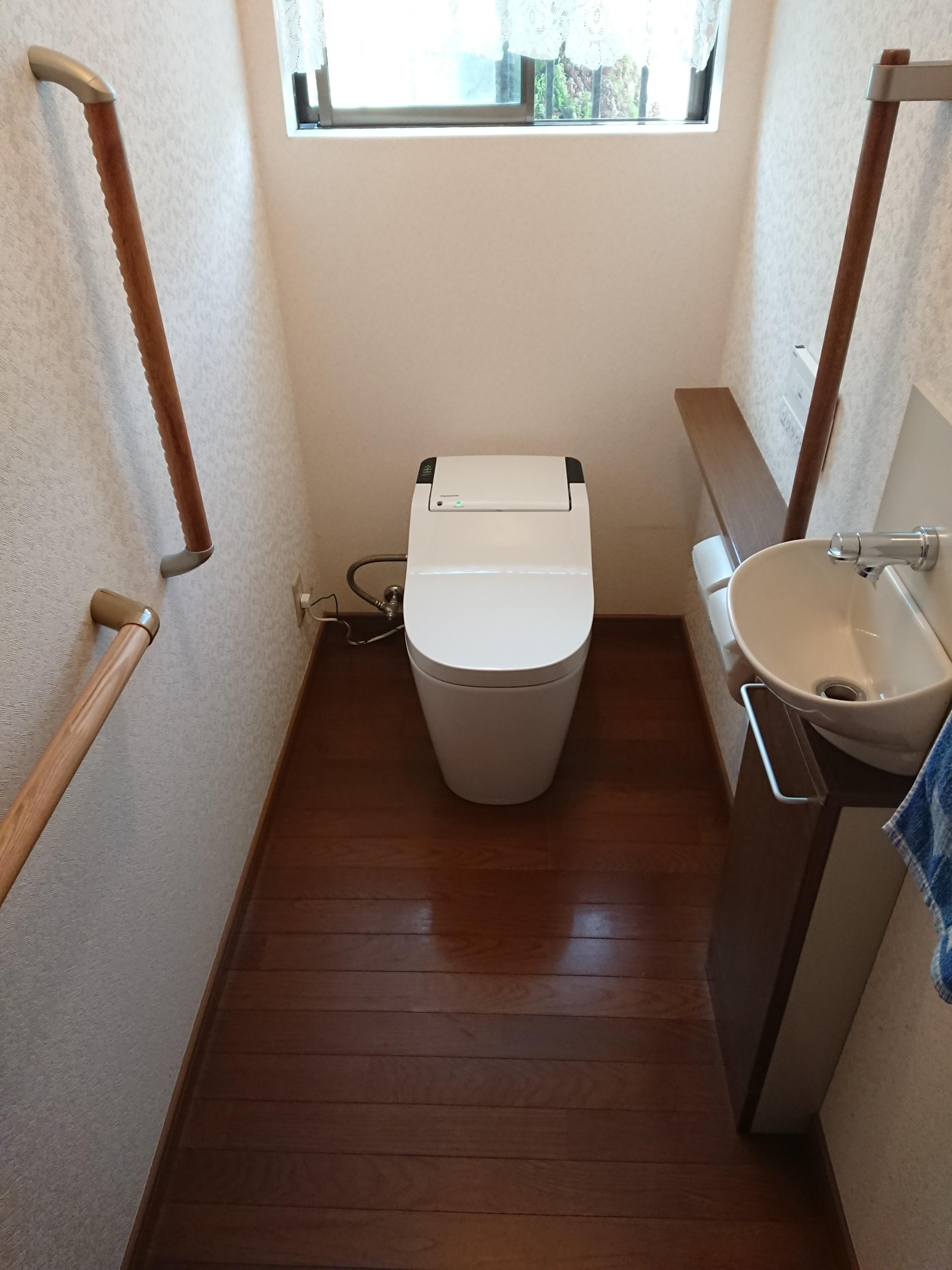 御津町 トイレの取替え