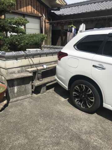 姫路市 EV車の充電コンセント