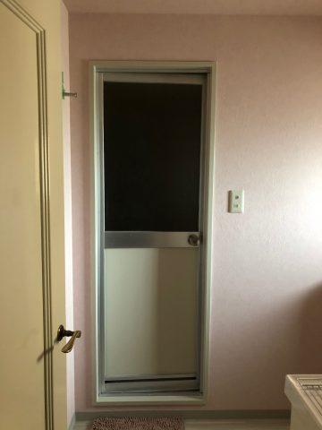 姫路市 マンションお風呂ドア塗装