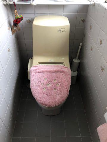 水漏れ トイレ交換